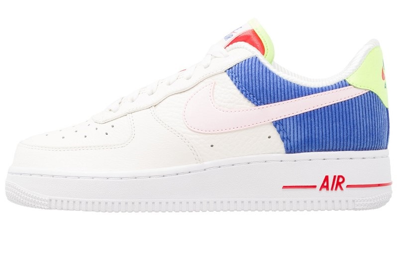 new style 74f31 a2e29 Nike Sportswear AIR FORCE 1 Baskets basses sail arctic pink racer blue