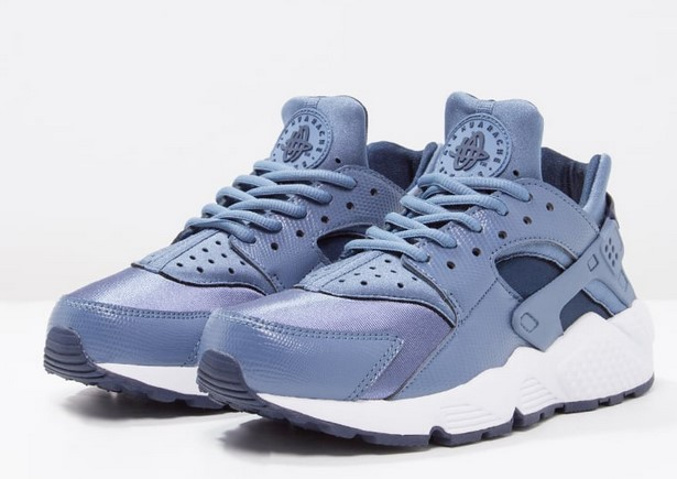 separation shoes 73fcd 8c8c7 Nike Sportswear AIR HUARACHE RUN Baskets basses ocean fog midnight navy  white, Baskets Femme Zalando  (Mode)  Zalando Nike Sportswear AIR HUARACHE  RUN ...