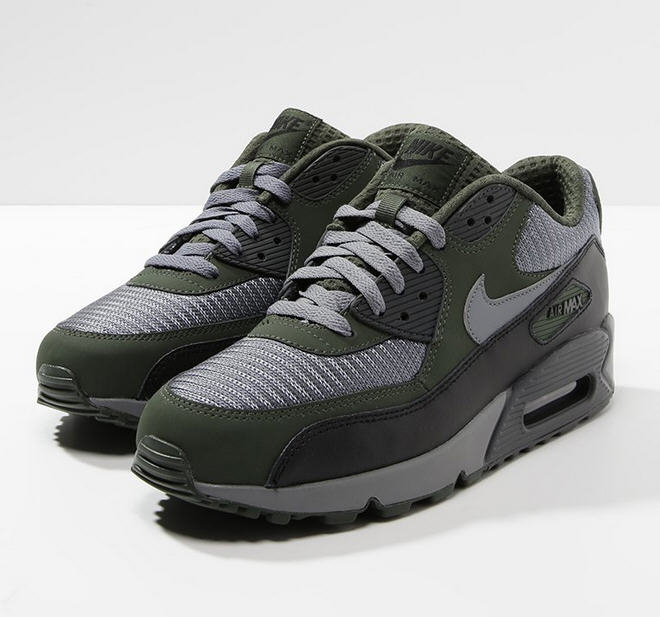 buy popular b61fa 1b0be Nike Sportswear AIR MAX 90 ESSENTIAL Baskets basses dark gray oliv - Baskets  Homme Zalando  (Mode)  Zalando Nike Sportswear AIR MAX 90 ESSENTIAL Baskets  ...