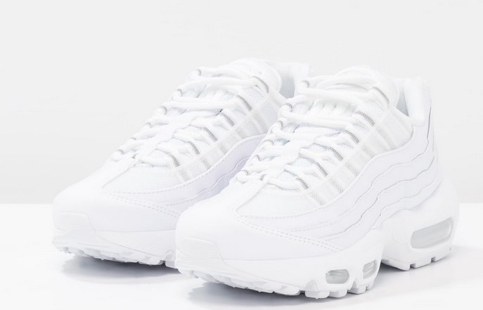 Nike Sportswear AIR MAX 95 Baskets basses white/pure platinum - Zalando