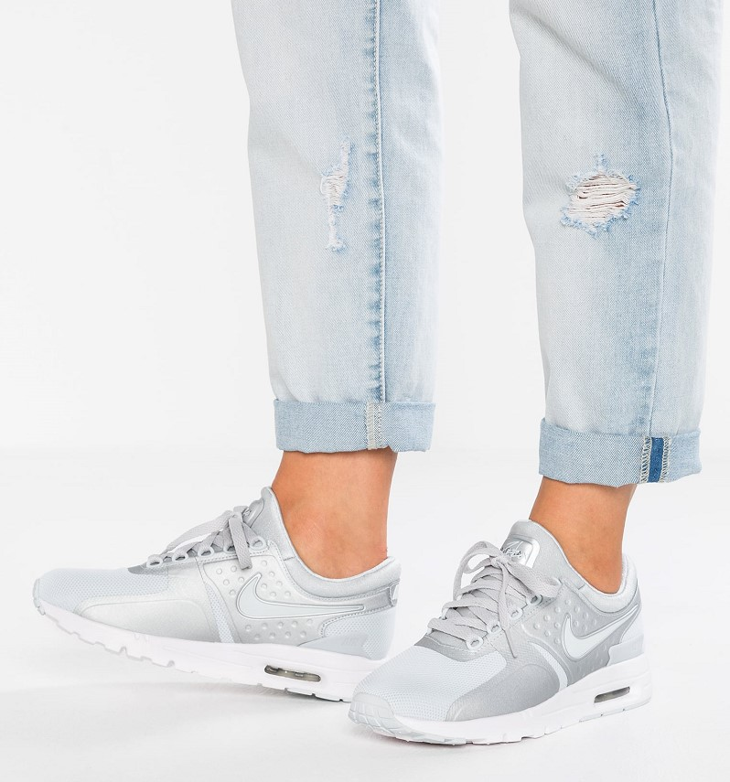 Nike Sportswear AIR MAX Baskets basses pure platinum/metallic silver - Zalando