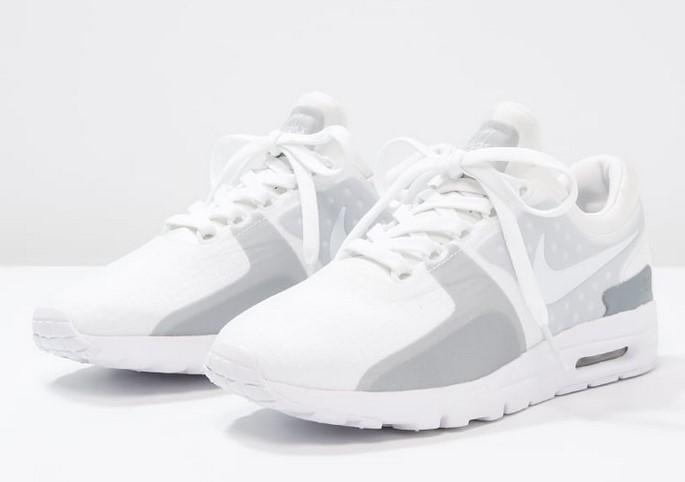 Nike Sportswear AIR MAX SI Baskets basses white/wolf grey ...