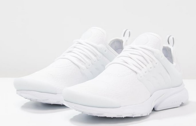 Nike Sportswear AIR PRESTO PREMIUM Baskets basses white/wolf grey
