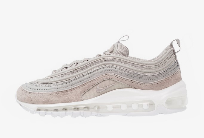 outlet store 1e286 56fb3 Nike Sportswear AIR MAX 97 PREMIUM Baskets basses cobblestone white -  Baskets Femme Zalando