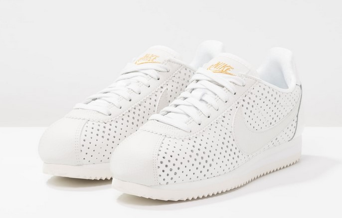 separation shoes a34a5 50140 Nike Sportswear CORTEZ CLASSIC BP Baskets basses summit white metallic gold