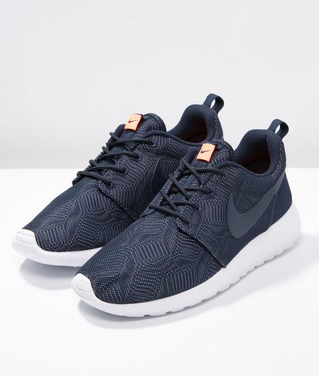 Baskets Nike One Basses Sportswear Roshe Obsidianwhitebright Moire 8k0nwOP