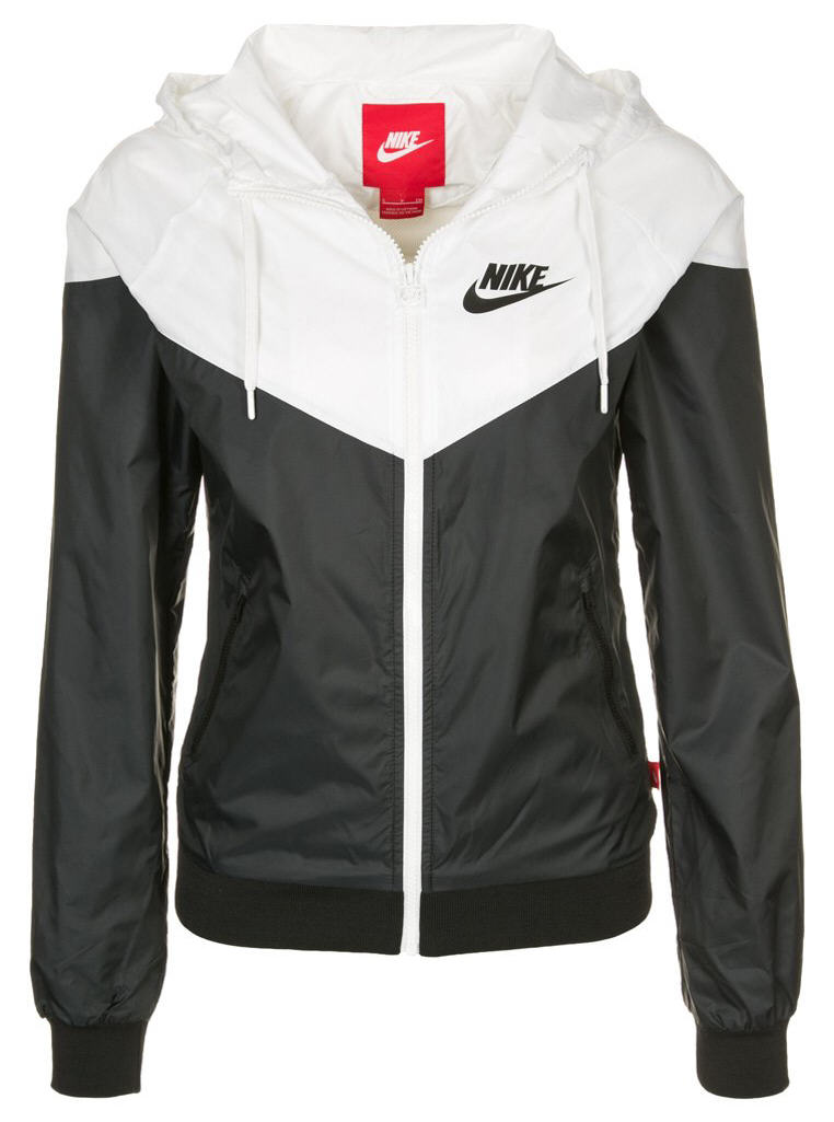 nike sportswear veste de surv tement black white veste de surv tement femme zalando. Black Bedroom Furniture Sets. Home Design Ideas