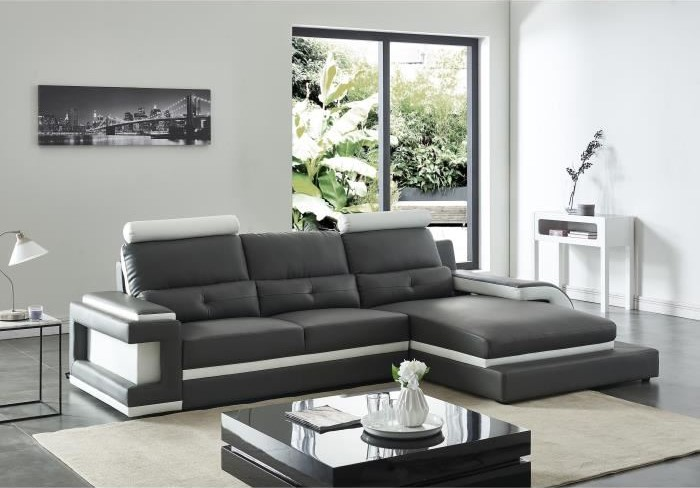 canape relax manuel bicolore 3 pl lenny canap conforama pas cher. Black Bedroom Furniture Sets. Home Design Ideas