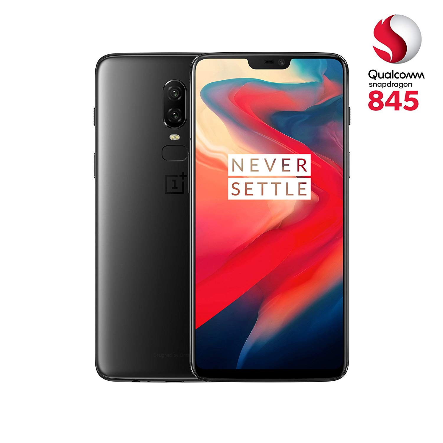 Smartphone One Plus 6T Mirror Black 128Go et 6Go RAM