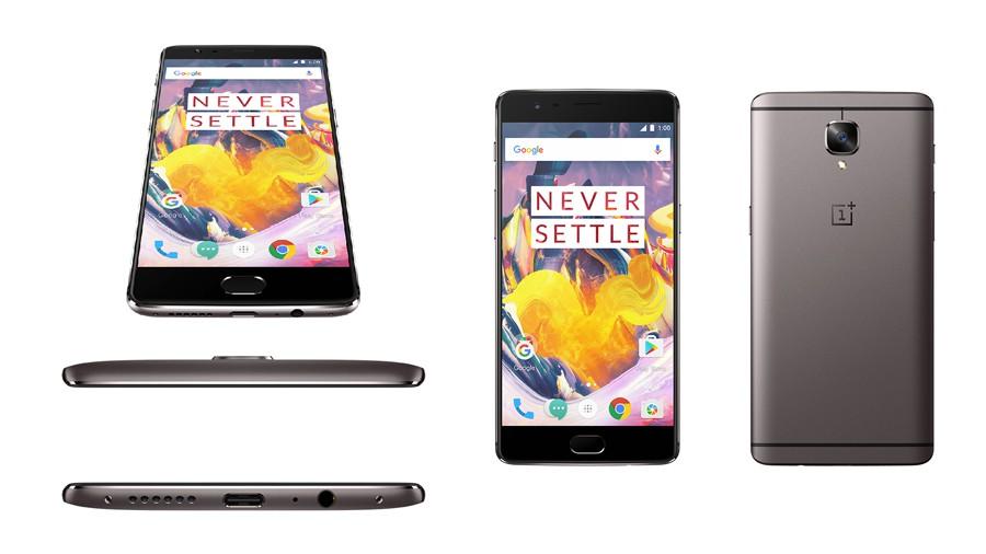 OnePlus 3T Gunmetal 64 Go