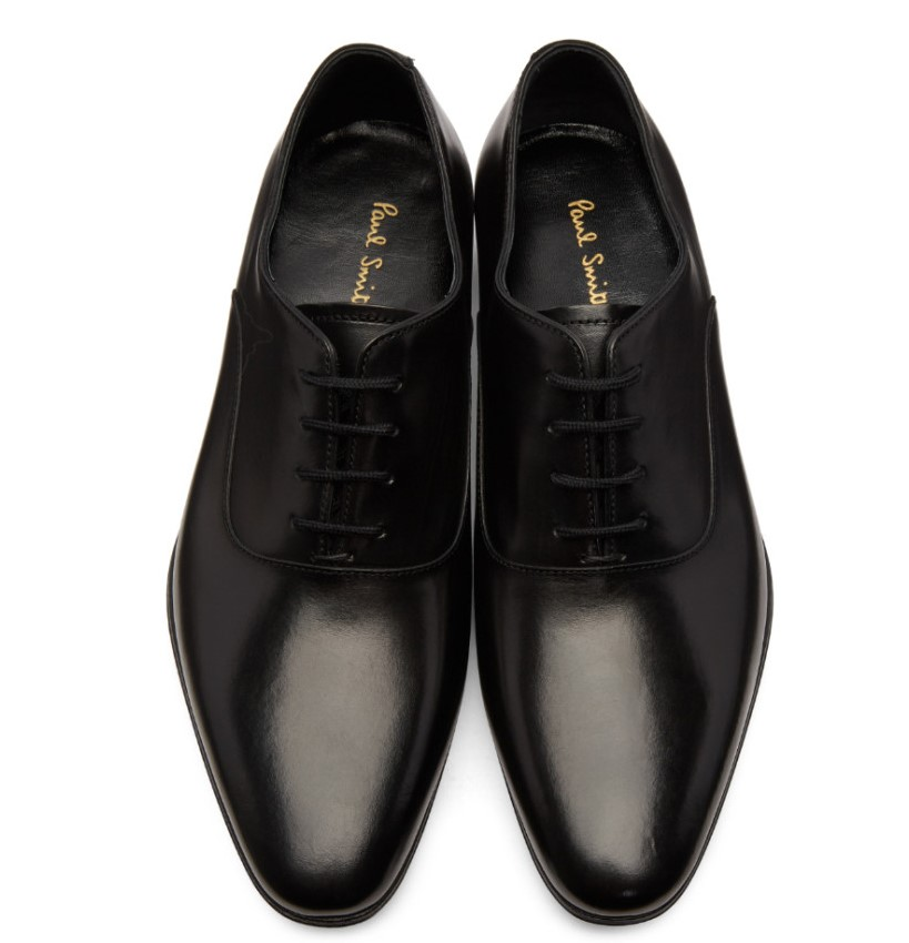 Paul Smith Oxfords noirs Fleming
