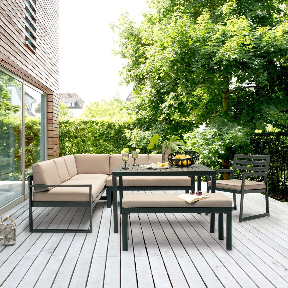 Salon de jardin Kettler Océan - Salon de jardin Gamm Vert - Iziva.com