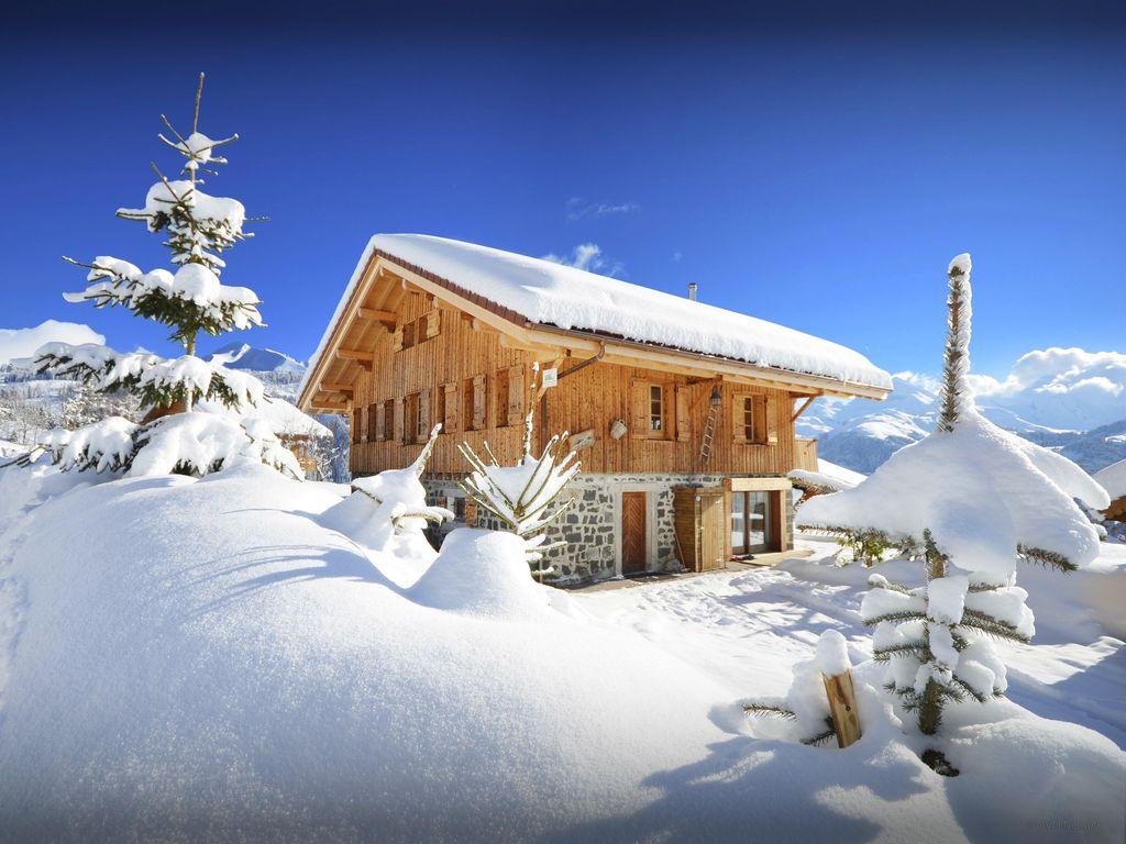 Abritel Location Manigod - Chalet Les Martinets Manigod : 4 étoiles, jacuzzi, sauna