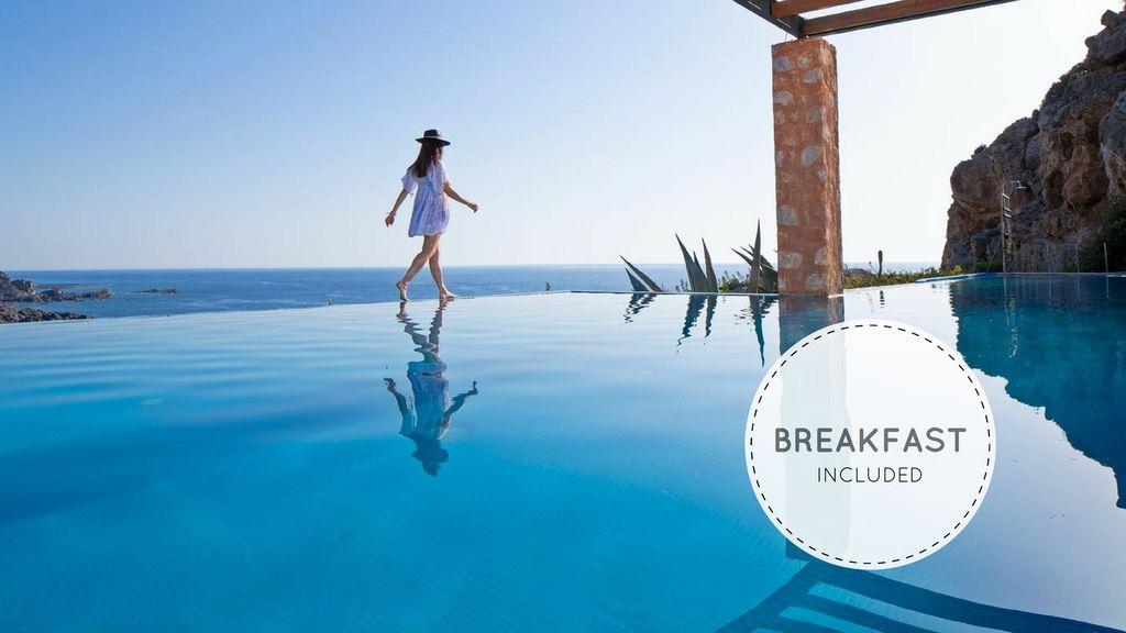 Abritel Location Vacances Elafonisi - Villa Neptune en bord de mer avec piscine et spa