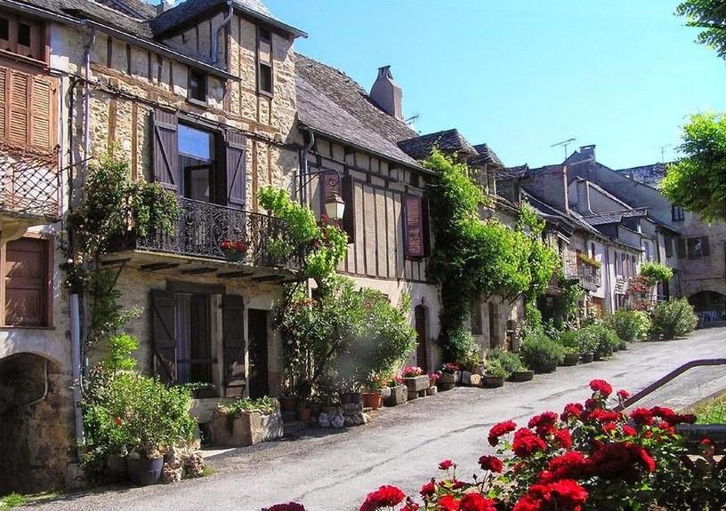 Abritel Location Saint-André-de-Najac - Gite Le Combal - Belle Ferme Près de Najac, Vues Panoramiques, Piscine chauffée.