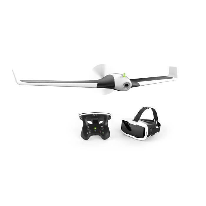 Drone Parrot Disco + Skycontroller 2 + Cockpit Glasses
