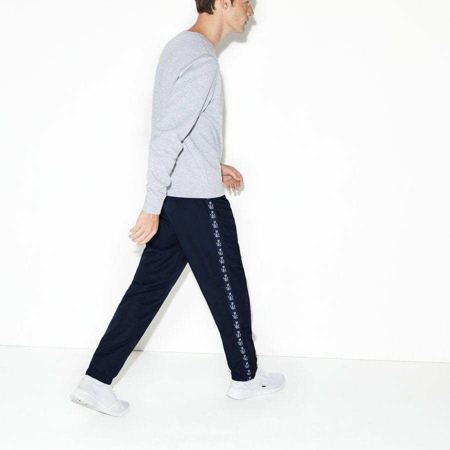 5468da09ed Pantalon de survêtement Tennis Lacoste SPORT avec bande crocodiles pour  Homme