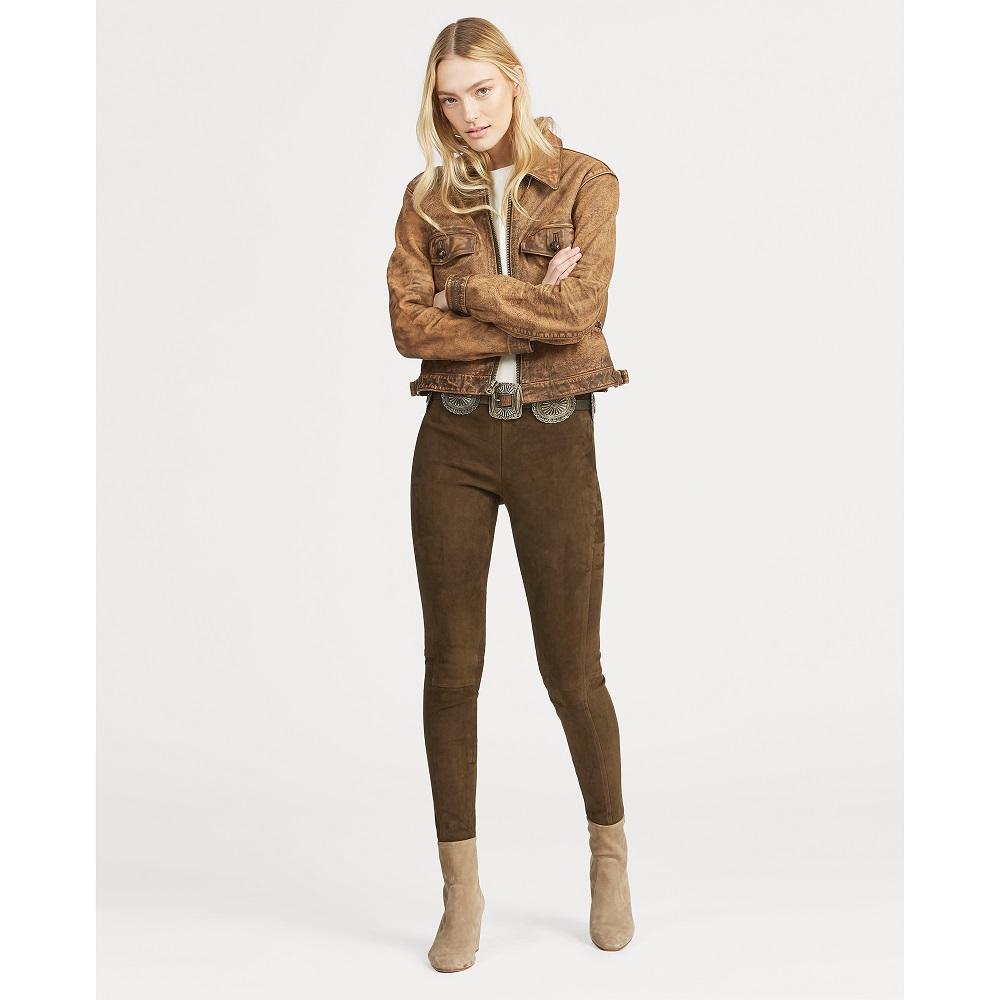 Skinny Daim Ralph En Polo Vert Pantalon Botanique Lauren xdtsrCBhQo