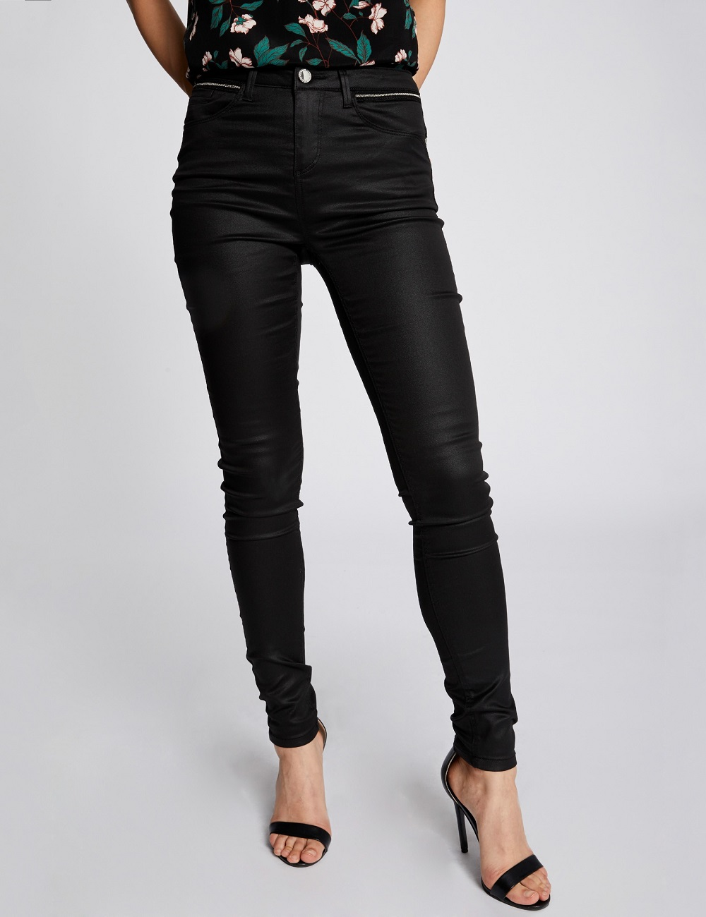 1d4c50f3a4 Pantalon slim galon fantaisie Morgan - Pantalon Morgan Morgan de Toi  Pantalon slim galon fantaisie Morgan Pantalon Morgan, achat Pantalon slim  galon ...