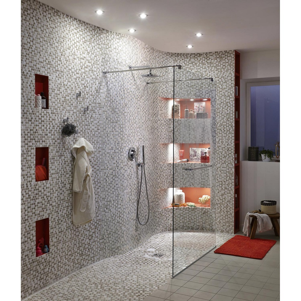 paroi de douche l 39 italienne cube central soldes paroi. Black Bedroom Furniture Sets. Home Design Ideas