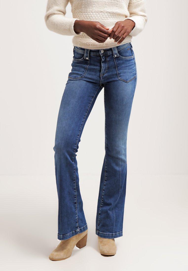 073a7dcf99c Pepe Jeans MELISSA Jean bootcut 000 - Jeans Femme Zalando - Iziva.com