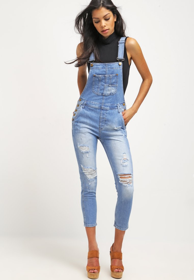 Salopette Slate Pepe Denim Bleached Jeans Zalando Femme qgSw16
