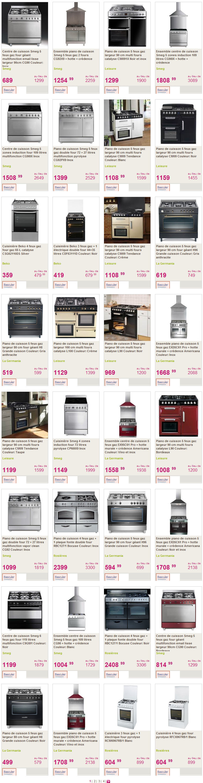 Piano De Cuisine Pas Cher piano de cuisson delamaison - cuisinière piano de cuisson