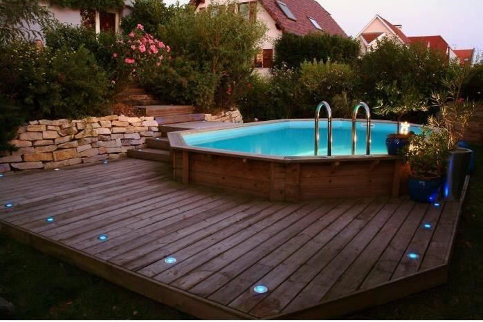 piscine bois ubbink maldives beige 335x485x120cm