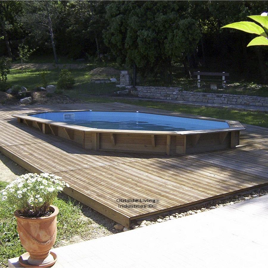 Piscine Hors Sol Bois Petite Dimension devis piscine hors sol etaux (haute-savoie) ➨ bois, acier
