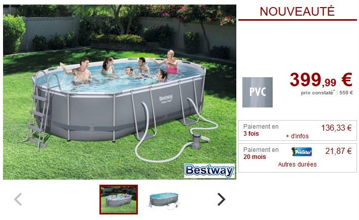 piscine bois sasha ubbink allong e en kit piscine la. Black Bedroom Furniture Sets. Home Design Ideas
