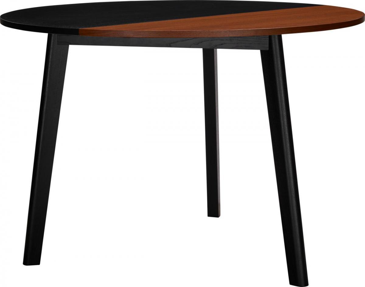 Noyer Habitat Noir Table Pivot Extensible vNmwn08O