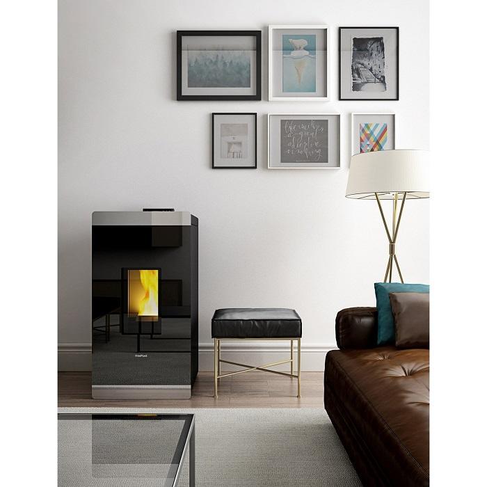 po le granul s freepoint glass air 8 5 kw po le granul s leroy merlin. Black Bedroom Furniture Sets. Home Design Ideas