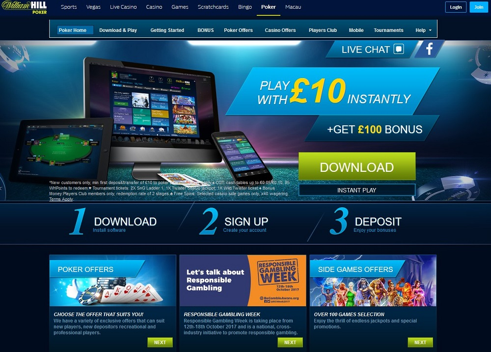William Hill Poker - William Hill Poker en ligne