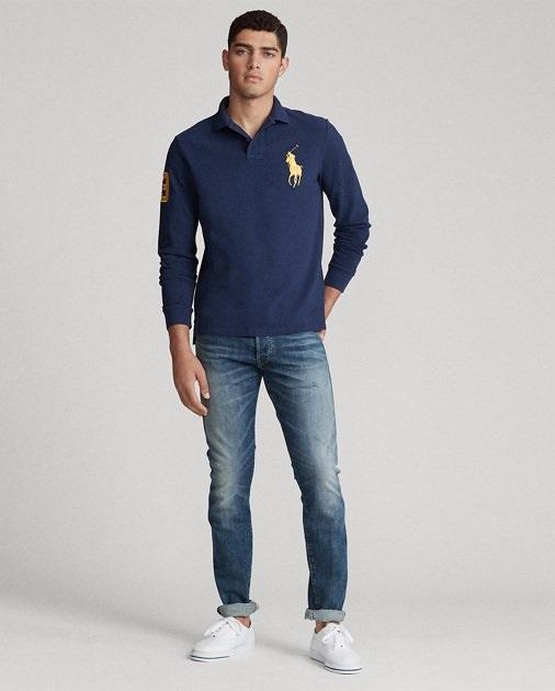Polo Ralph Lauren Polo ultra cintré à manches longues pour Homme