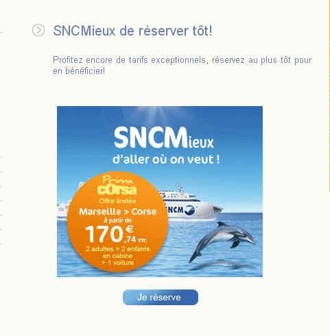 Prima Corsa de la SNCM
