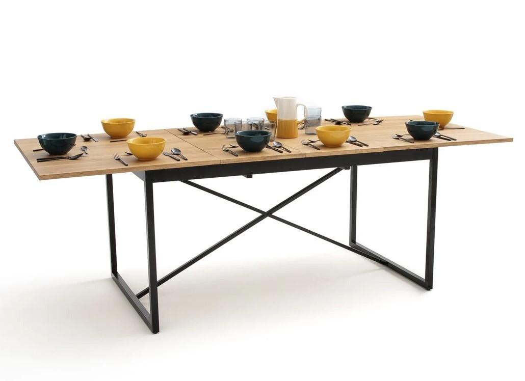Table à Manger à Allonges Nova 6 à 10 Couverts Chêne Table