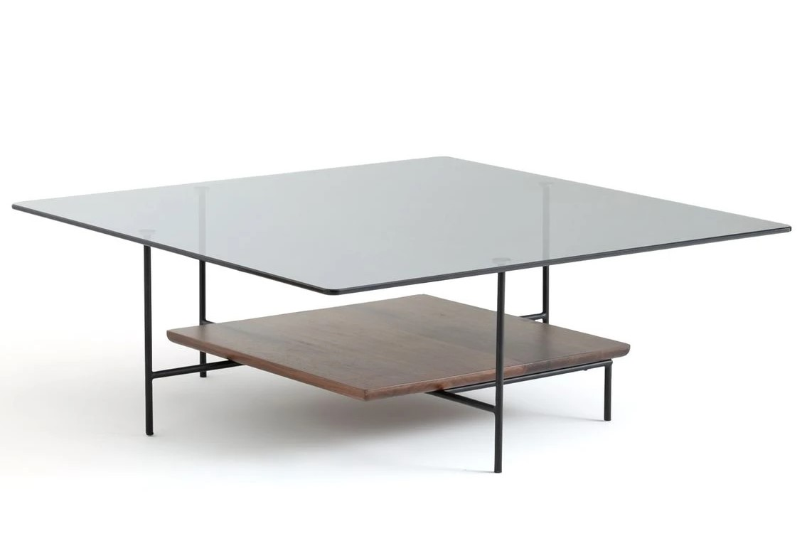 Table basse Dhesiki noyer