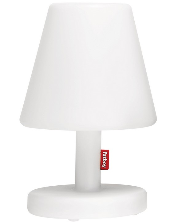lampe edison the medium led blanc fatboy lampe de table made in design. Black Bedroom Furniture Sets. Home Design Ideas