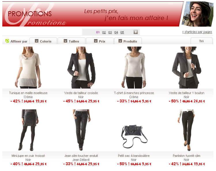 Promod Vetement Femme Soldes Promod Tunique Imprime Chocolat 14