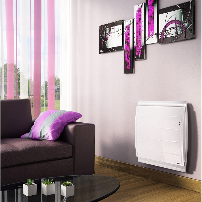 radiateur lec connect double syst me chauffant sauter. Black Bedroom Furniture Sets. Home Design Ideas