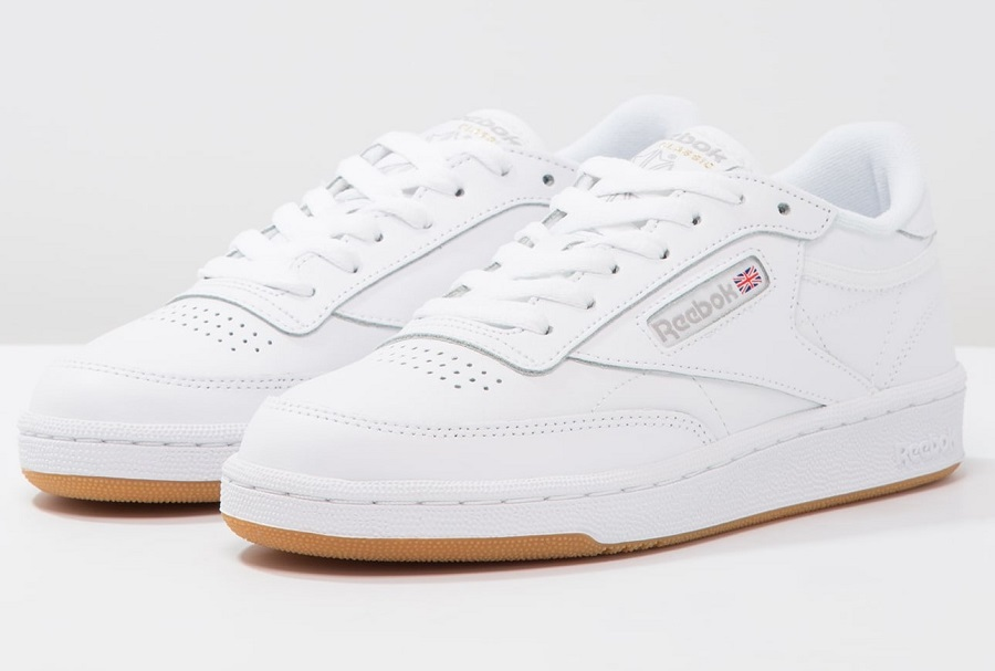 71bc782ccb096 Reebok Classic CLUB C 85 Baskets basses white light grey - Baskets ...