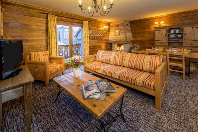 Location Résidence Hedena Chalets Altitude & Ours 5* à Les Arcs en Savoie