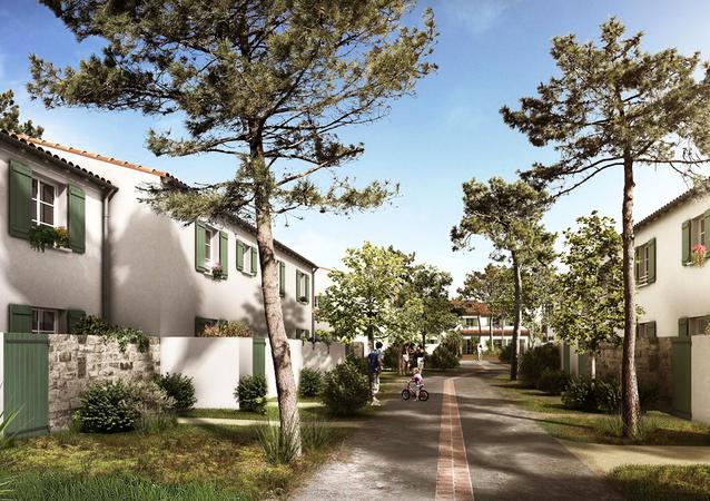 Résidence Odalys Reve d'Ile à l'Ile de Ré en Charente Maritime
