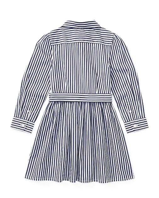 Robe-chemise en coton rayé Ralph Lauren pour Fille