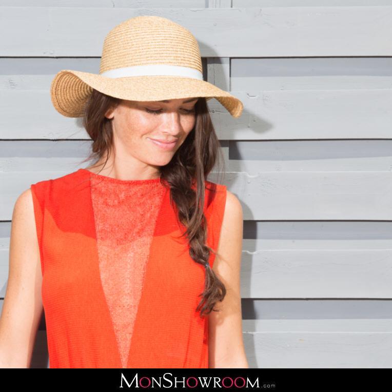 0ed4213f4b9b6 Robe rouge dos boutonnée détails dentelle Seelie Sessun - Robe Monshowroom