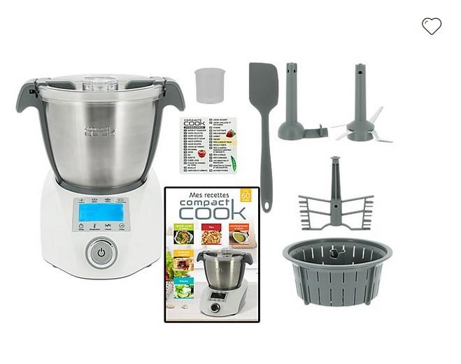 Compact Cook Robot De Cuisine Multifonction Robot De Cuisine M6