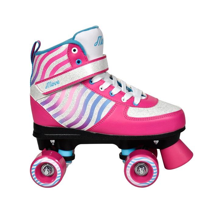 Rollers quad évolutif 35/36 pailletés Urban Kids