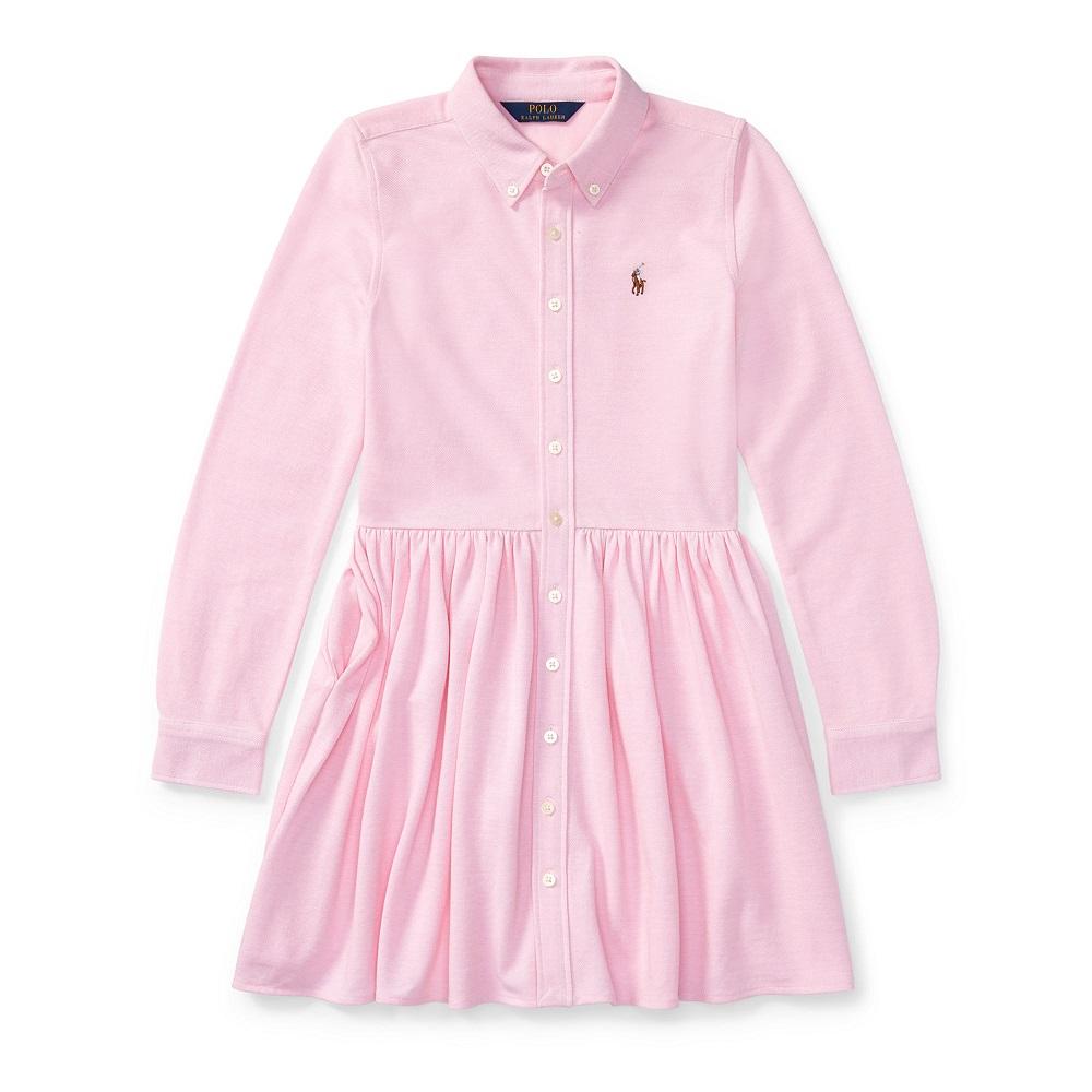 robe chemise en coton oxford ralph lauren robe fille. Black Bedroom Furniture Sets. Home Design Ideas