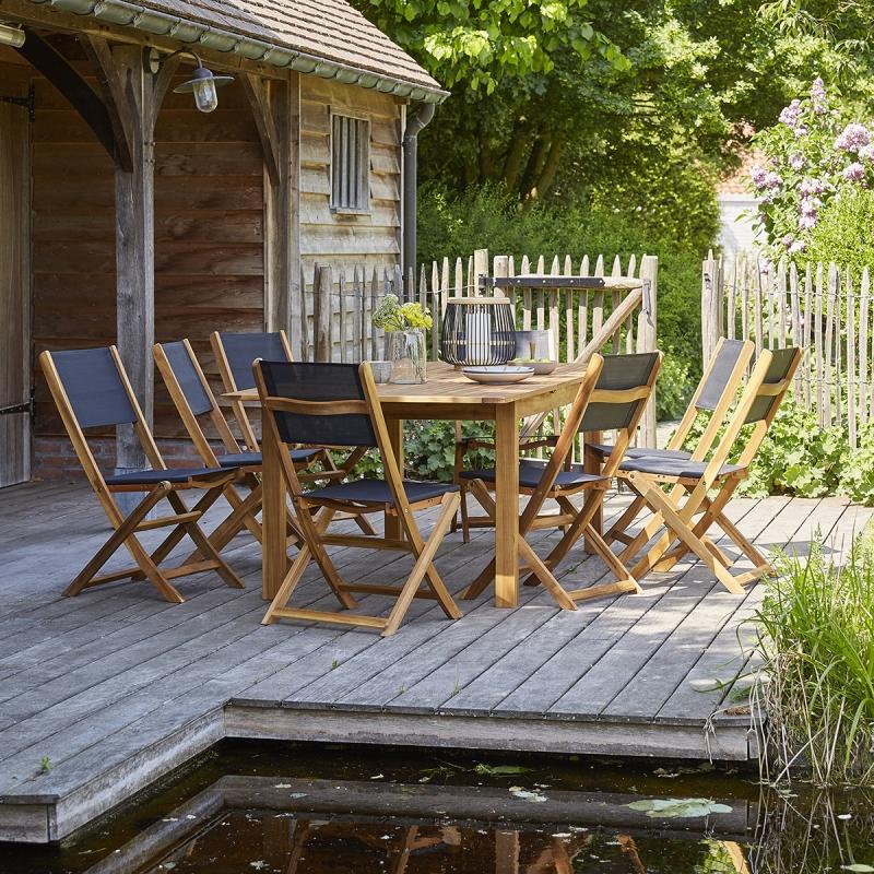 Table de jardin extensible Sur Iziva - Iziva.com