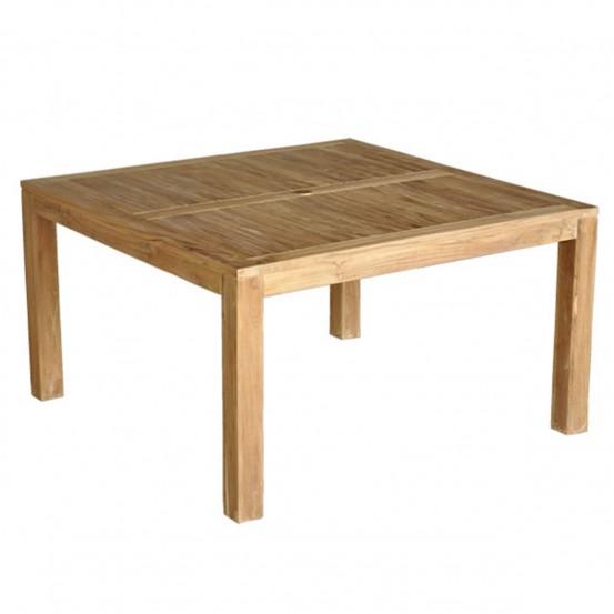 Salon de jardin en bois de teck midland 8 places soldes - Table jardin teck massif fort de france ...